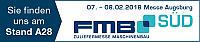 JBW als Aussteller auf der Messe FMB Süd 2018 in Augsburg