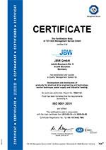 JBW Certificate_ISO9001 valid until 14.09.2018